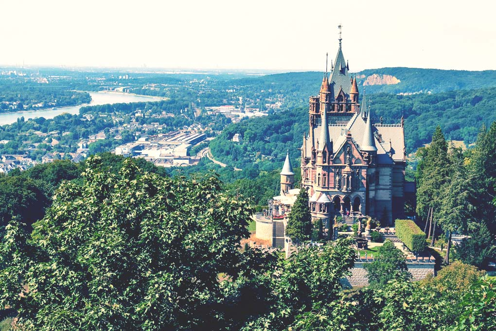 Drachenfels im Rheinland