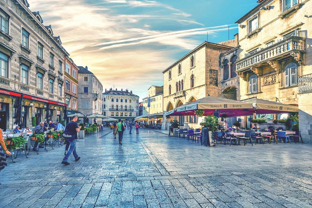 Stadt in Kroatien