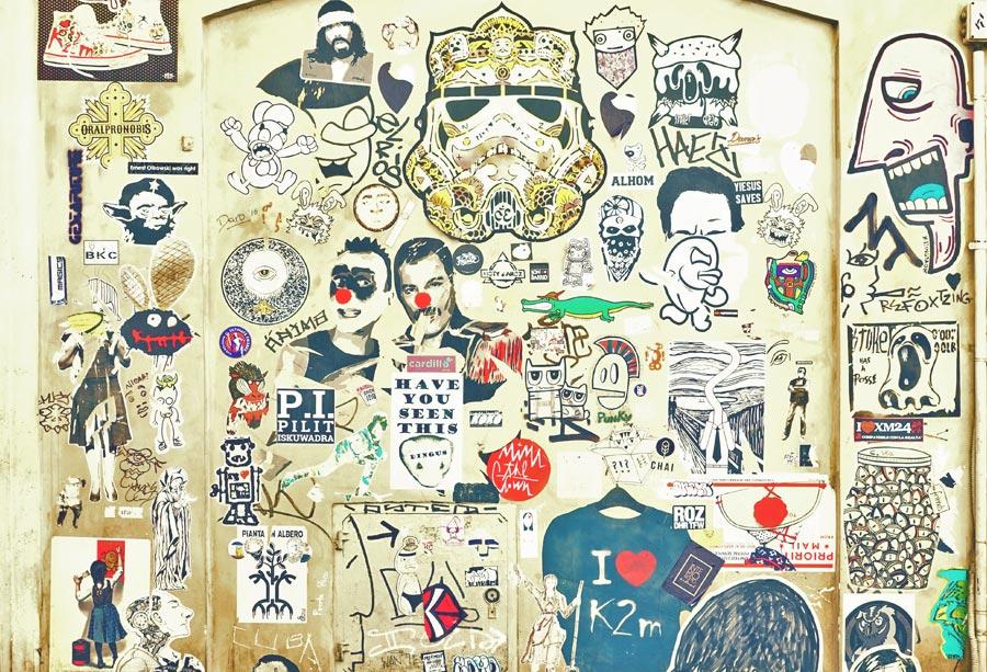 Street Art in Italien