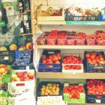 Tomaten Markt in Italien
