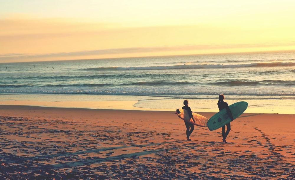 Surfen in Frankreich