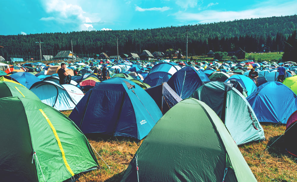 Festival-Camping
