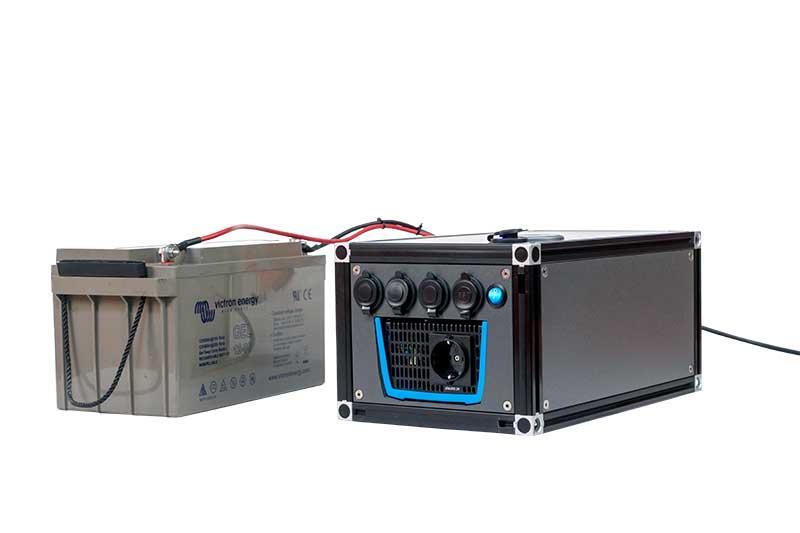 Zweitbatterie mit Elektro-Modul von Ello Camping
